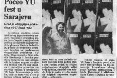 OSLOBODJENJE-170888-POCEO_YU_FEST_U_SARAJEVU