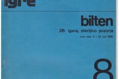Sterijino pozorje XXVI 1981