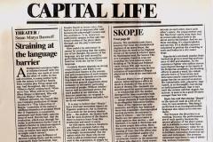 THE WASHINGTON TIMES-CAPITAL LIFE
